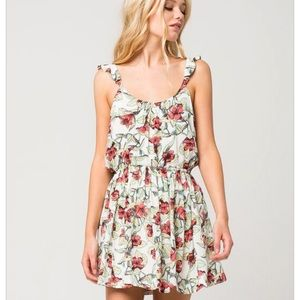 FREE PEOPLE Dear You Mini Dress S Small Floral